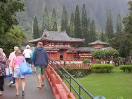 Entering the Japanese Temple , Geraldine L - November 2013