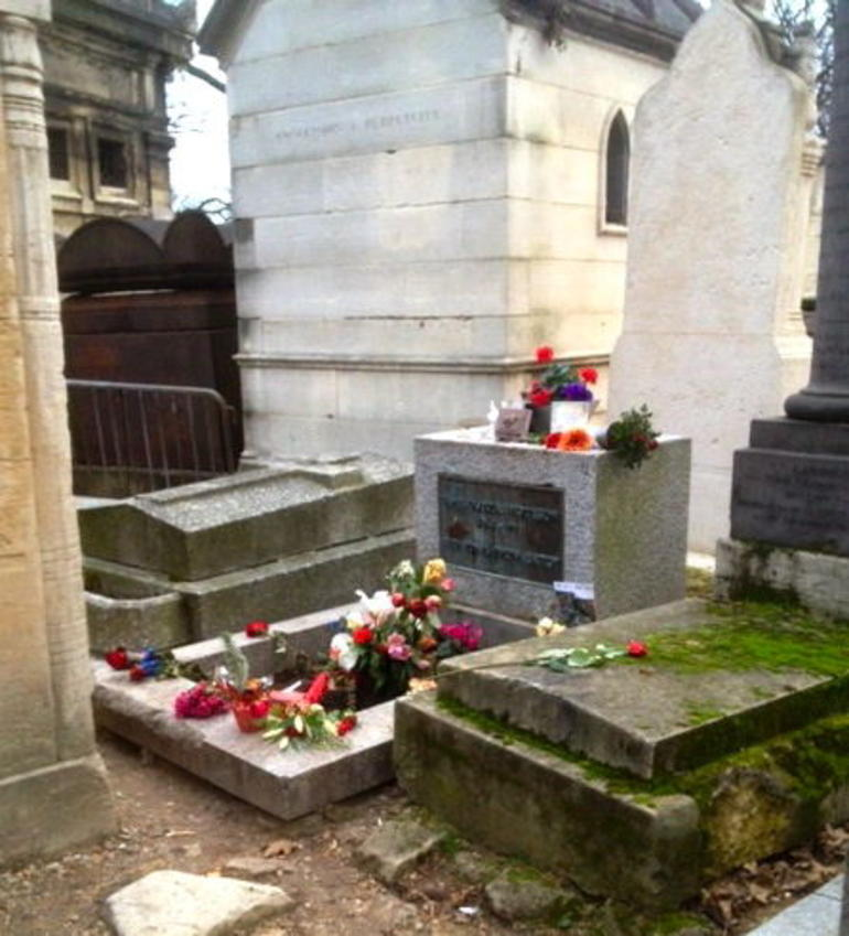 Jim Morrison's Grave - Paris