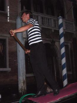 The Gondoliers were funny, musical, gorgeous and made the evening trip very enjoyable. We would highly recommend this trip. We had bats circling round overhead and our glimpse of the Rialto Bridge ... , Margaret Anne Y - September 2008