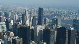 View of the Chrysler building from the Empire State Building, Jenny L - November 2010