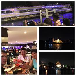 Dinner cruise , Geoff - August 2016