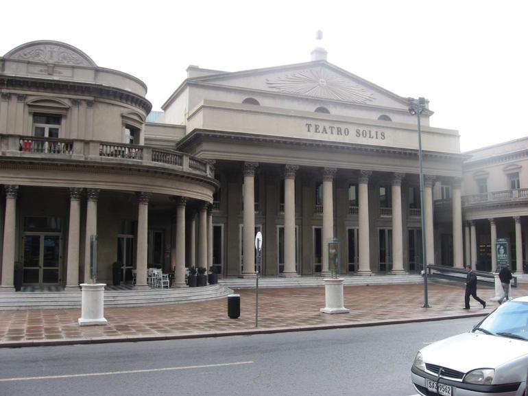 Teatro Solis - Buenos Aires