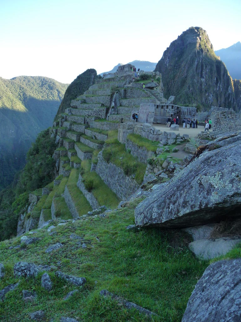 Terraced farming - so impressive - Cusco