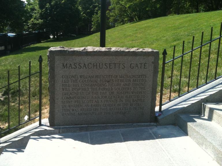 The Massachusetts Gate, Freedom Trail - Boston