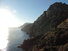 View from the road outside Sorento , James G - December 2014