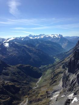 Our late-September view from the very top of Mt. Titlis , Katharine D. B - October 2014