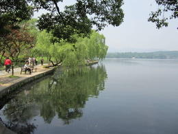 West Lake in Hangzhou., Julie - June 2012