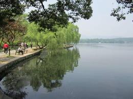 West Lake in Hangzhou., Julie - June 2012