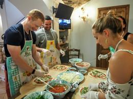 Pizza Making , Katherine L - May 2017
