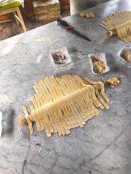 Homemade pasta! , Kristin D - December 2017