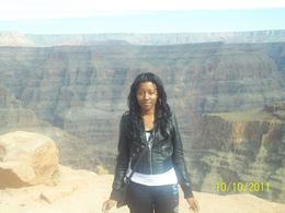 Me at the Grand Canyon! 10-10-11 , Yelly - October 2011