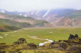 Beautiful scenery of Landmannalaugar , RM - September 2015