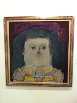 Botero's version of the Mona Lisa., Bandit - September 2012