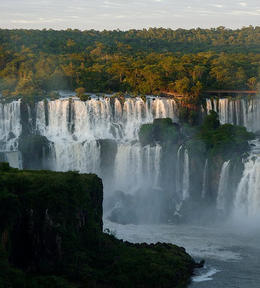 Beautiful view of the Brazilian side of the falls., kellythepea - December 2011