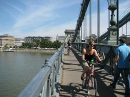 Riding over the bridge - July 2011