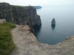 Pretty cove at Cliffs of Moher., kellythepea - July 2014
