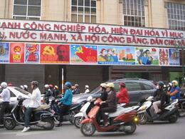 Traffic in Vietnam, Undercover Américan - October 2010