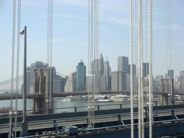 Manhattan from Manhattan Bridge - New York City