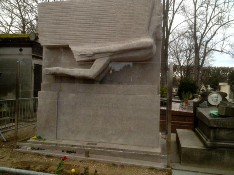 Oscar Wilde's Grave - Paris