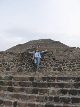 You can climb the pyramid or just take a picture like me. , Olga N - December 2014