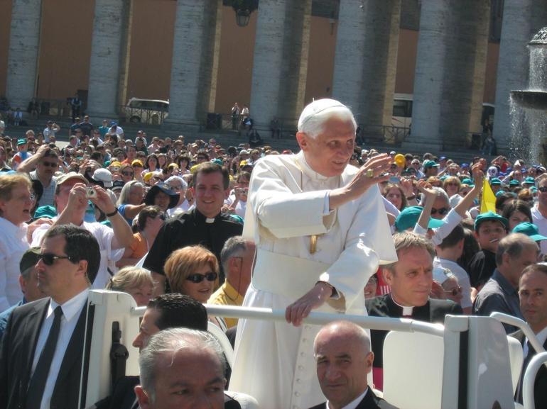 Pope Benedict - Rome