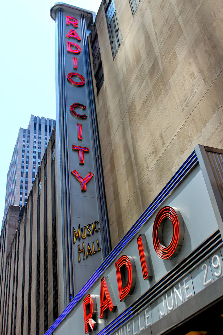 Radio City Sign - New York City