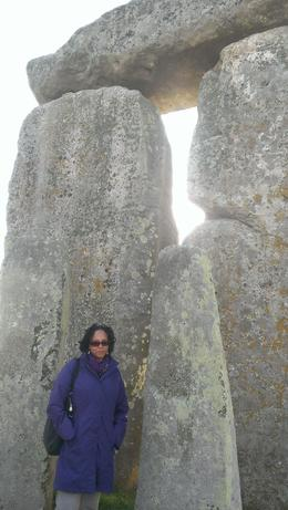 Inside the circle at Stonehenge. Incredible experience! , lori h - June 2013