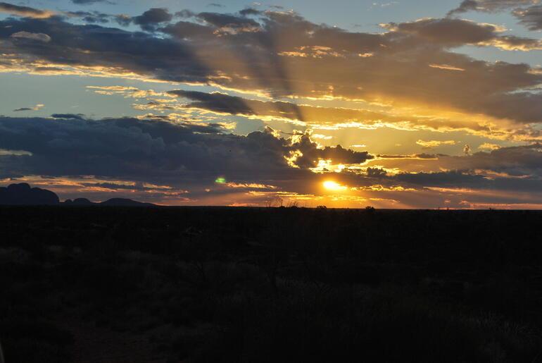 Sunset - Ayers Rock