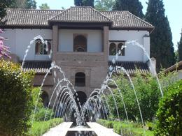 Water fountains in the gardens - July 2009