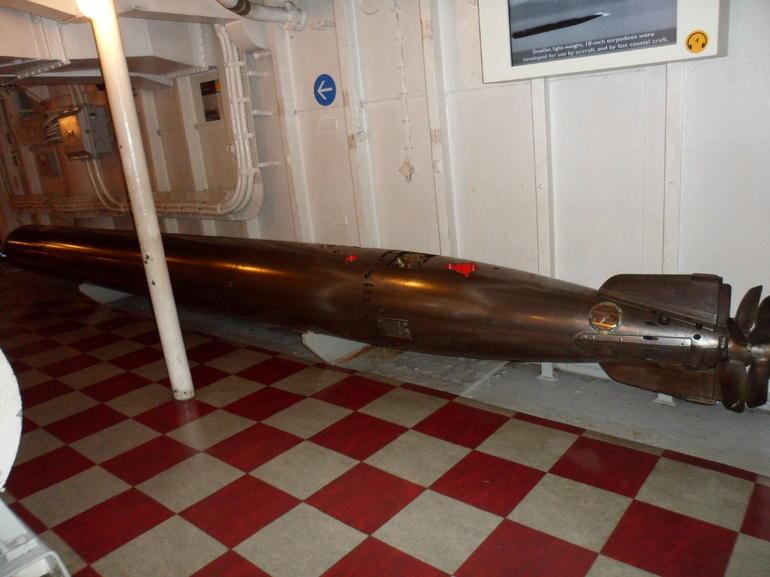 The Mark IX Torpedo - London