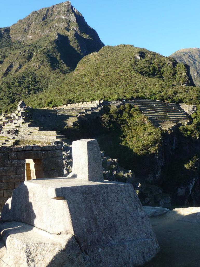 The sundial - Cusco