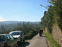 Beautiful morning view of the Tuscan countryside , Fiona V - November 2014