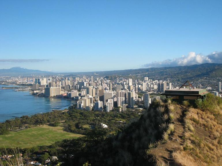 View from Diamond Head - Oahu
