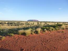 Uluru looking behind us. , Alan P - March 2017