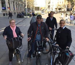 Bike group ready! , Shirley Jeanne - March 2017