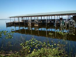 Line up of airboats , Keith W - March 2017