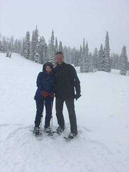 Snowshoeing in Paradise , Laura H - May 2017