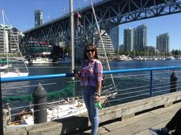 Claire at the Granville Island. , Clara R - September 2017