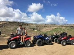 We had so much fun exploring the island of Aruba on ATV's! , Matthew P - November 2017