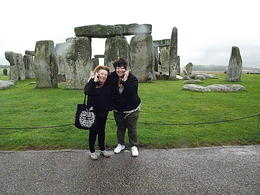 Mom and I enjoying listening to the story of Stonehenge on self tour...... LOVED, LOVED It....... , Ransthewiz - September 2011