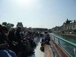 Boat down Seine River - June 2010