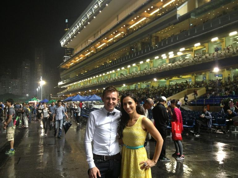 Horse Racing at the Hong Kong Jockey Club Happy Valley - Hong Kong