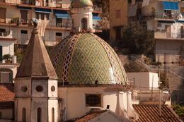 A Majolica dome , IRENE M - October 2011