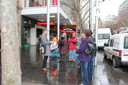 Melbourne Lanes and Arcades Walking Tour, Emma - September 2011