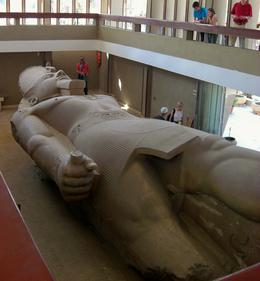 The colossal statue of King Ramses II at Memphis. - March 2008