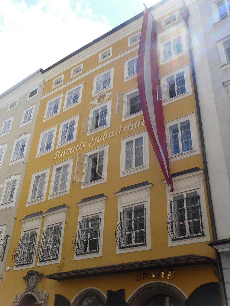 Mozart's birth place - Vienna