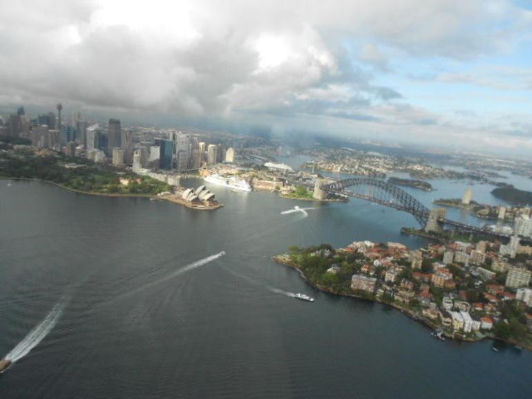 Opera House sunlit - Sydney