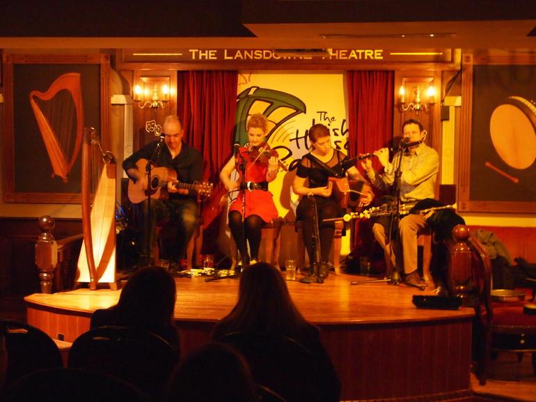 Great Irish musical performance - Dublin