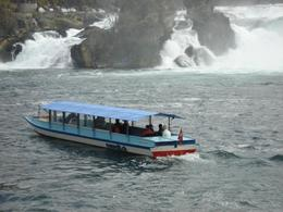 Rhine Falls boat tour - October 2007