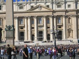 popes blessing, carol w - October 2010